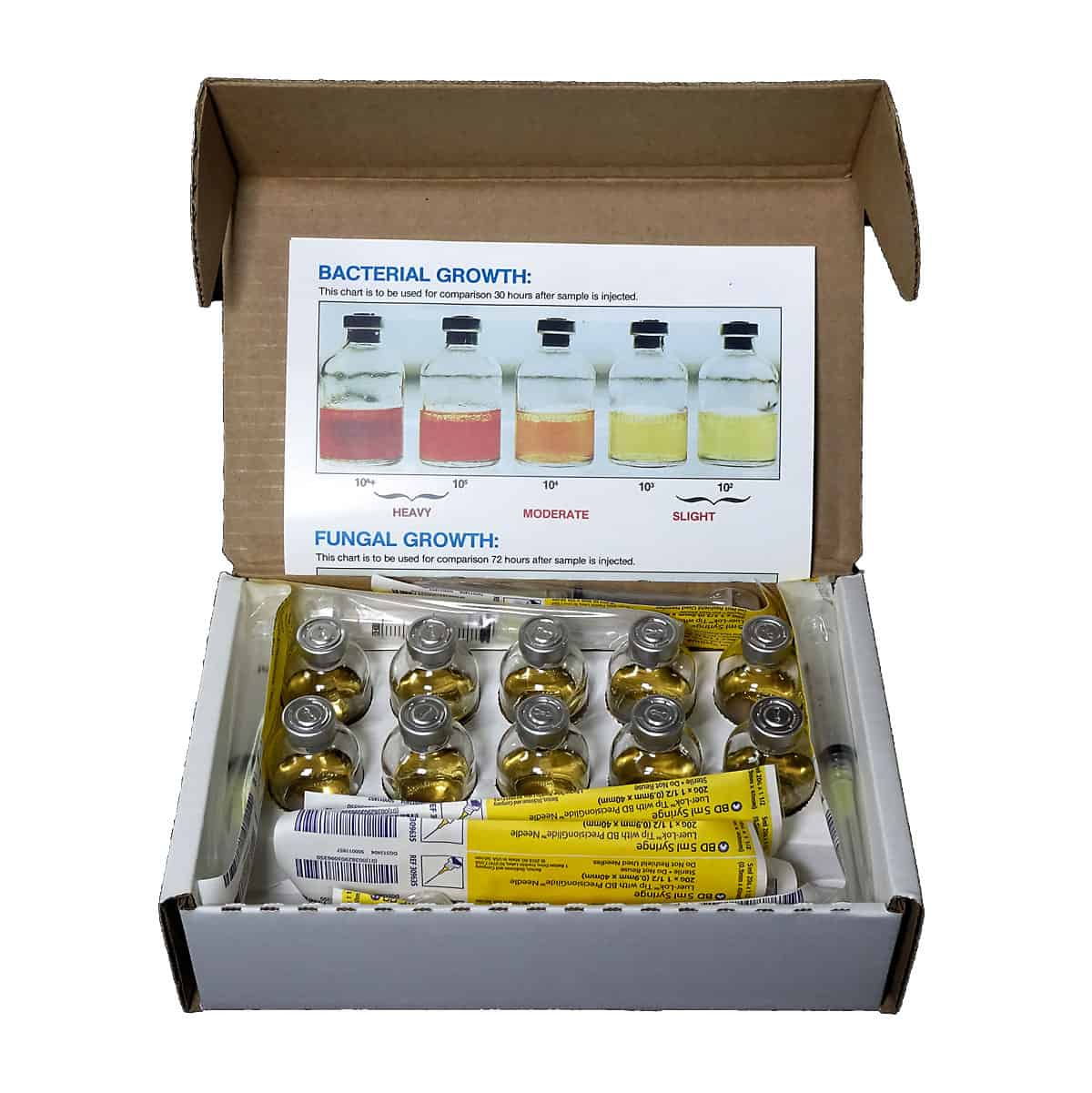 10 Pack Microbial Test Kit