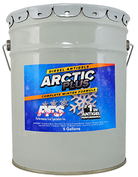 5 gallon bucket of Arctic Plus Diesel Antigel for winter cold performance