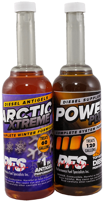 Arctic Xtreme and Power Plus Diesel Fuel Treatments